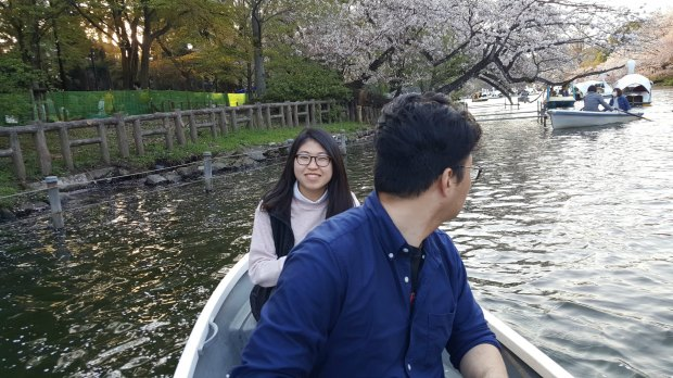 Hanami Boat Ride