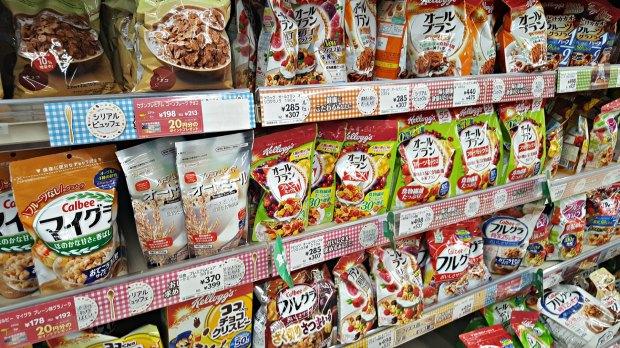 Spending Money in Japan Per Day - Cereal
