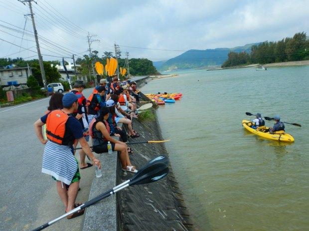 Kayaking Yanbaru Mangrove Okinawa - Instructions before