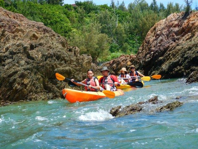 Kayaking Yanbaru Mangrove Okinawa - Sea Tour