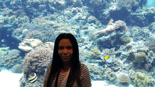 How Okinawa is Different from Mainland Japan - Me At the Aquarium