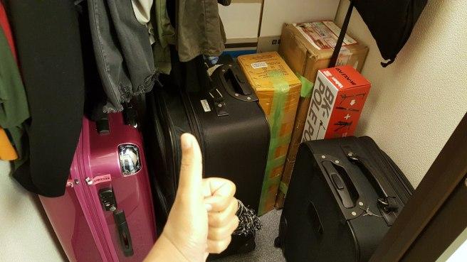 Leaving my home in Japan